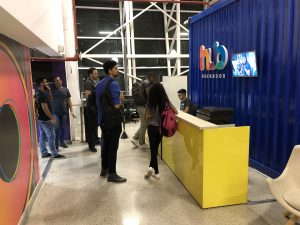 Alunos dos Cursos Sistemas de Informação e Gestão de TI fazem visita técnica ao HUB Salvador