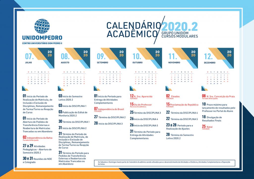 calendario academico modular